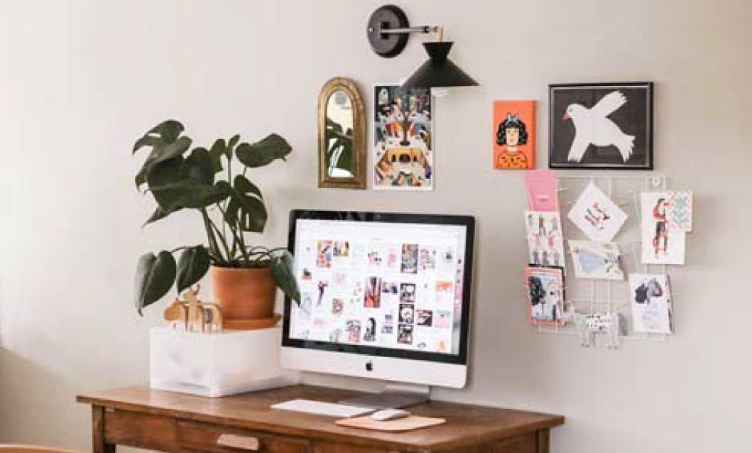 electronic organizing home