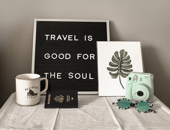 travel is good for the soul, ideal organizers