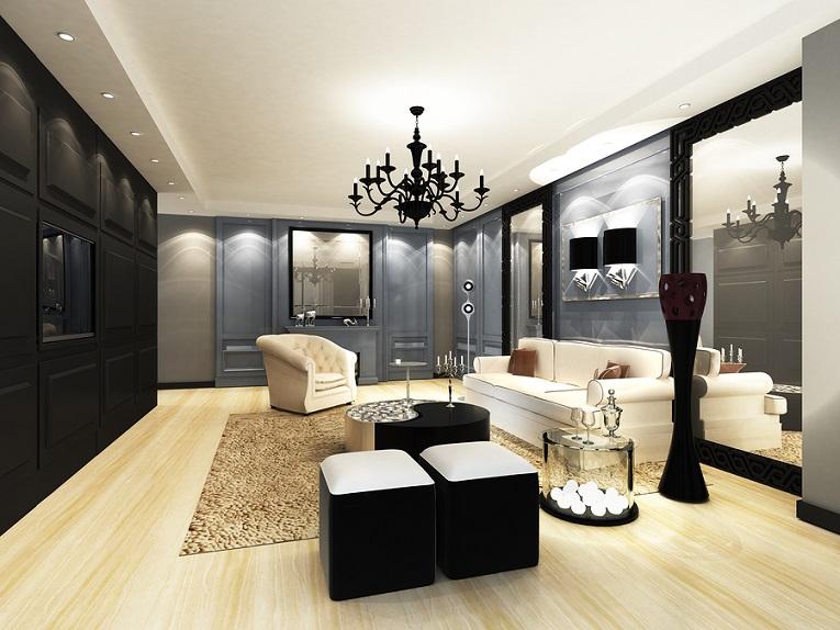 Hollywood Glam Interior Design Style